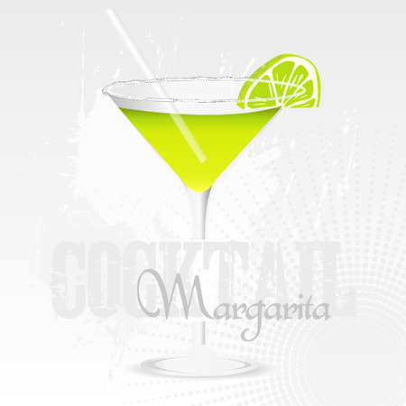 sec: Margarita Coktail Bacground Illustration