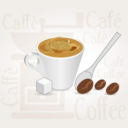 fond caf�: fond de caf�