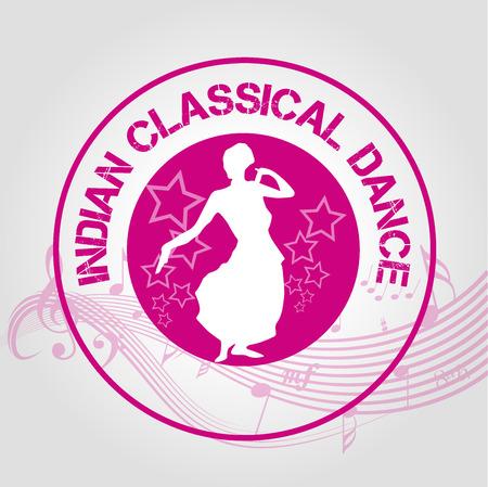 danza clasica: estampar la danza cl�sica india