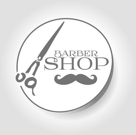 barber: icon barber shop Illustration