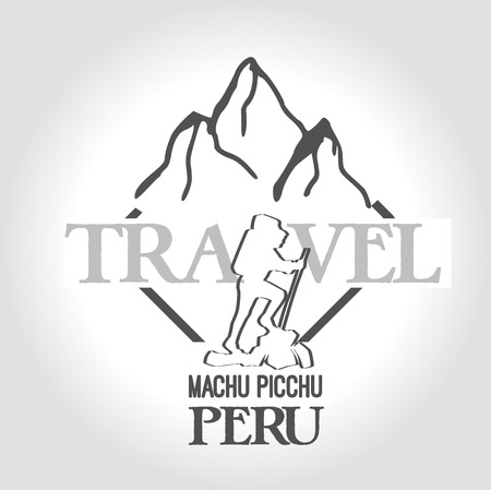 machu picchu: icon machu picchu