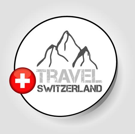 alpes suizos: viaje icono Suiza