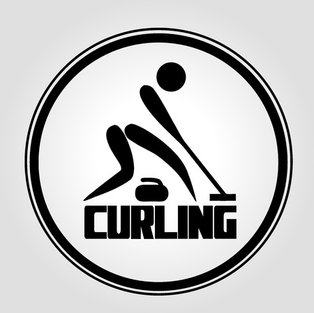 curling stone: Icon Curling