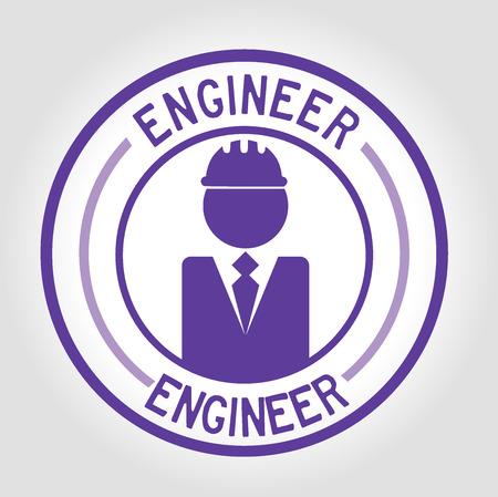 icon engineer Vector