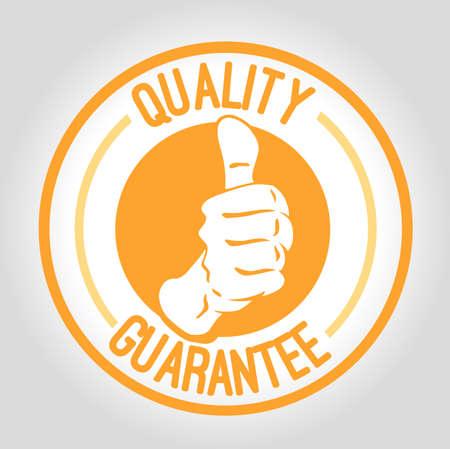 icon quality guarantee Vector
