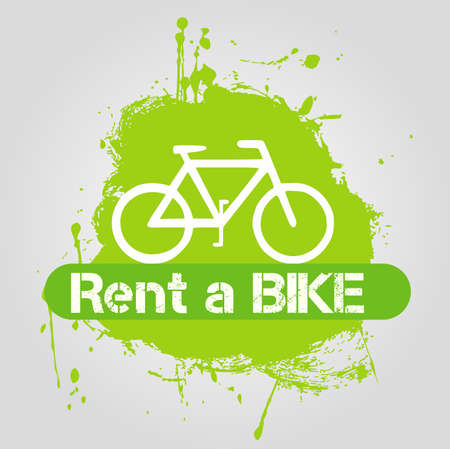 rent a bike icon Vector