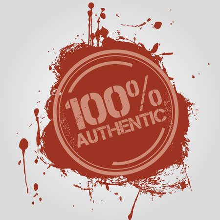 Stamp Authentic Vector