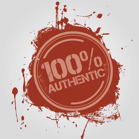 authentic: Stamp Authentic