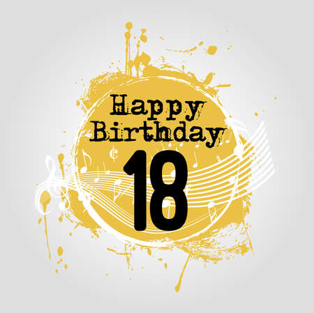 happy birthday 18: Happy birthday background