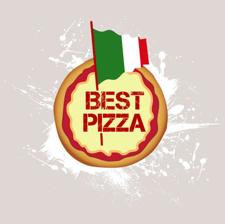 background best pizza Vector