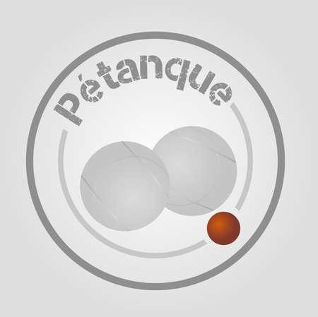 petanque: icon petanque
