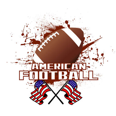 background american football Vector