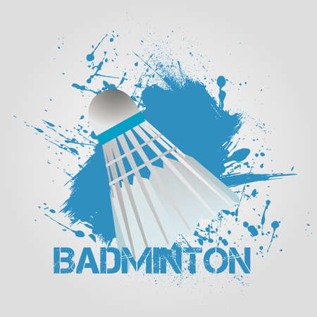 background Badminton Vector
