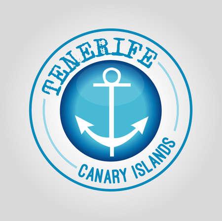 canary islands: Tenerifa, Canary Islands Stamp