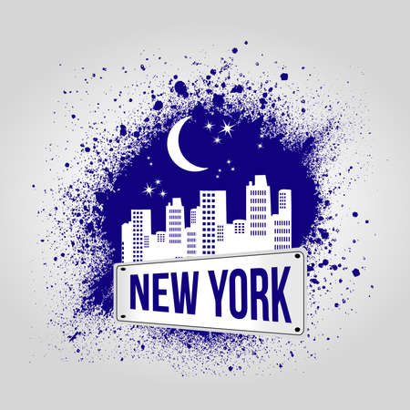 city background: New york city background