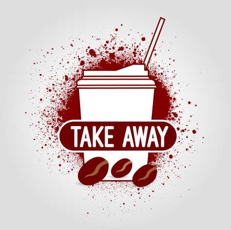 take: Take away icon