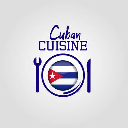 the cuban: Cuban Cuisine background