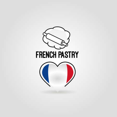 french pastry: icono de pasteler�a franc�s