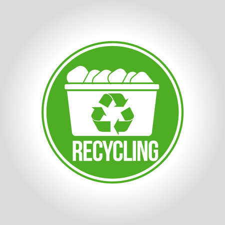 recycles: Recycling icon Illustration