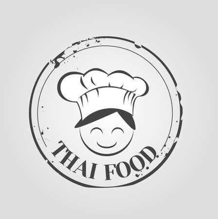 thai noodle: Thai food icon