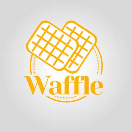 belgian waffle: Waffle icon