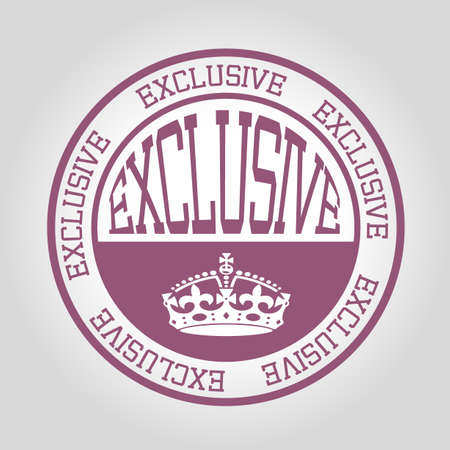 exclusive: exclusive stamp