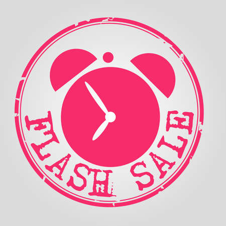 dirty: Flash dirty stamp Illustration