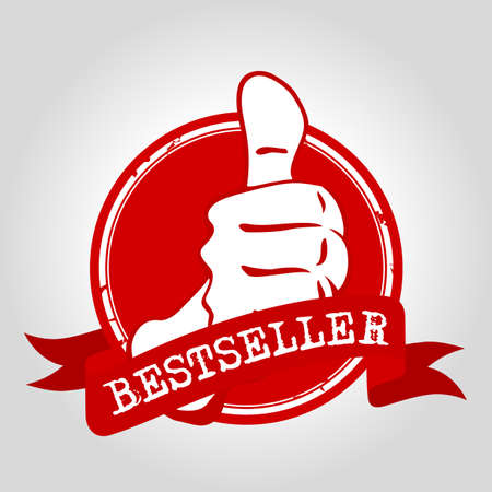 bestseller: Bestseller stamp Illustration