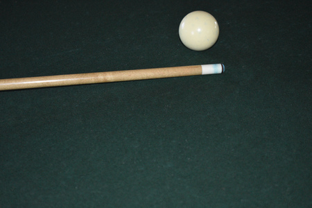 Pool Cue Background Banque d'images