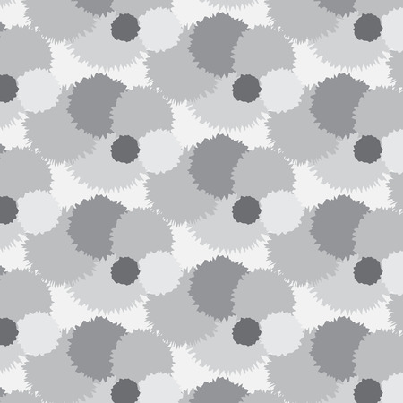 group pattern: silver shade roughen bubble group pattern background illustration abstract image and look softly Illustration