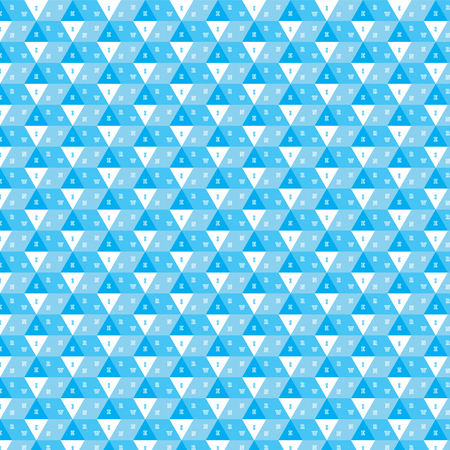 blue shade in box with winner text pattern background vector illustration image and has white triangles Illustration