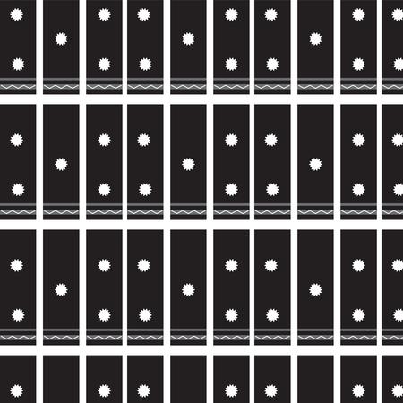 white chevron line with roughen circle pattern on black background vector illustration image Illustration