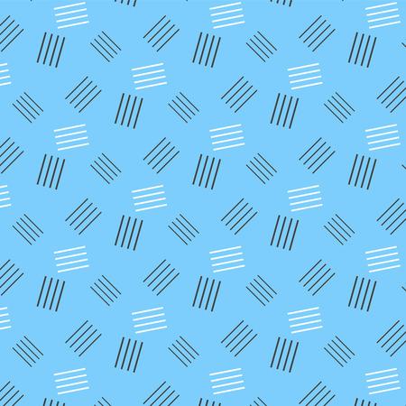 black and white line stack pattern on soft blue background vector illustration image