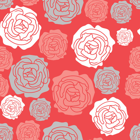 A rose citrus summer wedding floral pattern