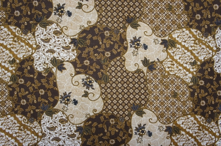 batik motif: Javanese Batik Pattern B  no post processing