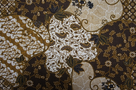 batik motif: Javanese Batik Pattern B  no post processing