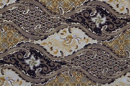 batik motif: Javanese Batik Pattern C  no post processing