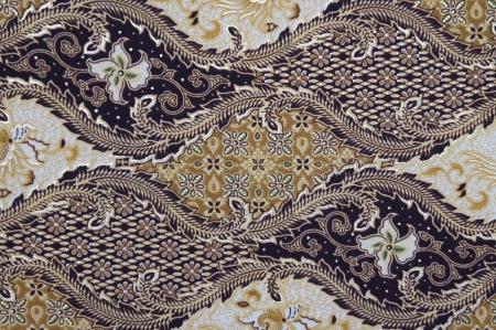 batik: Motif Batik de Java C sans post-traitement