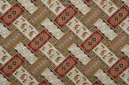 batik pattern: Javanese Batik Pattern D  no post processing  Stock Photo