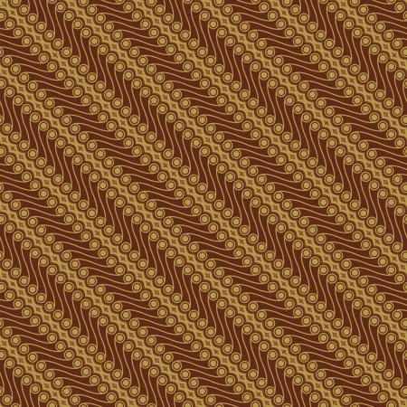 javanese: Javanese Batik Pattern  Set C1-2  Stock Photo