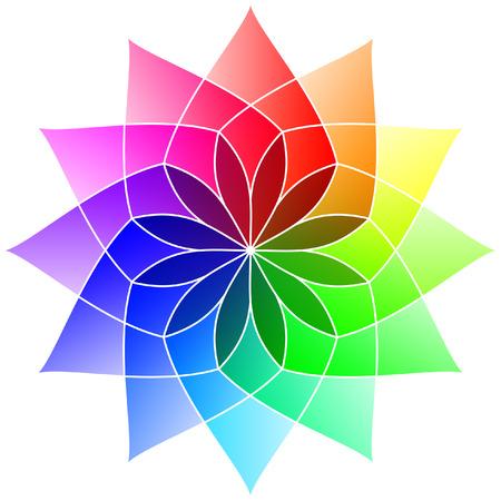 Flower - Color Spectrum  Set B