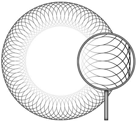 Border Spirograph  Set B1  Vector