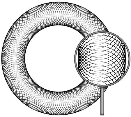 spirograph: Border Spirograph  Set B3