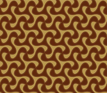 batik pattern: Batik Seamless Pattern - Pinwheels Illustration