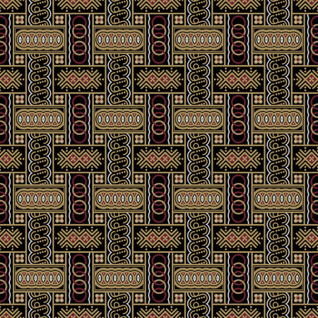 a2: Javanese Batik Seamless Pattern - Set A2 Horizontal