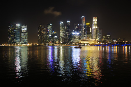 Cityscape Marina Bay Singapore photo