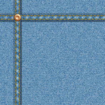 Denim Texture Seamless Vector with Seam 矢量图像