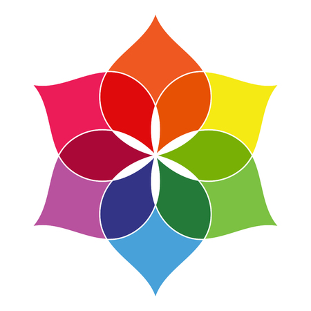 color spectrum: Flower - Color Spectrum Set A