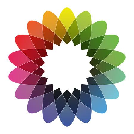 spirograph: Spirograph - Color Spectrum Set B