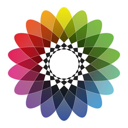 color spectrum: Spirograph - Color Spectrum Set B
